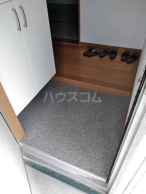 多摩ハイツB棟 201号室の玄関