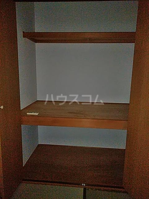 多摩ハイツB棟 201号室の収納