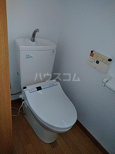多摩ハイツB棟 201号室のトイレ