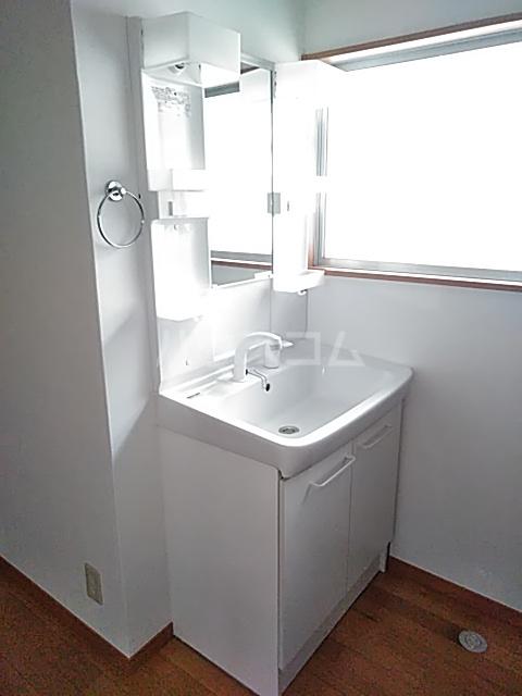 多摩ハイツB棟 201号室の洗面所