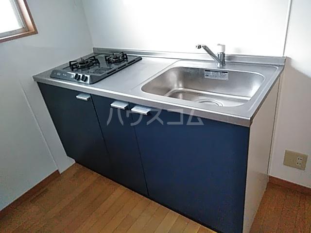 多摩ハイツB棟 201号室のキッチン