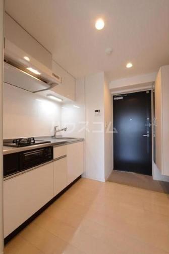 ベルフェリーク上野毛 306号室のキッチン