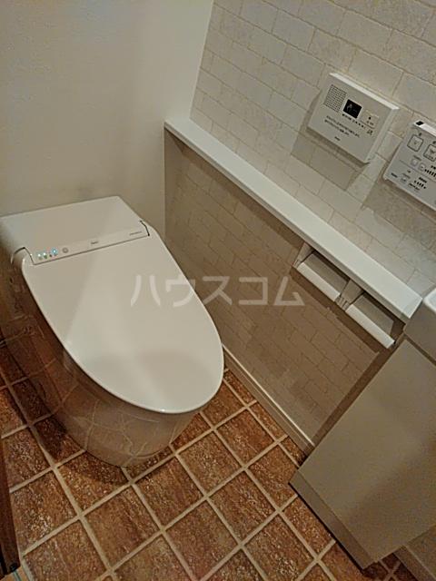 シャトーライフ自由が丘1 101号室のトイレ