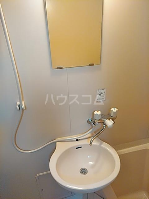 ビーンズハウスの洗面所