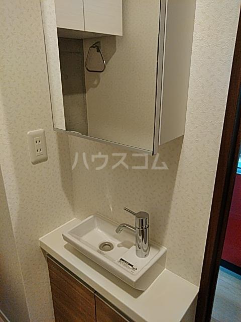ウェルスクエアイズム奥沢 301号室の洗面所