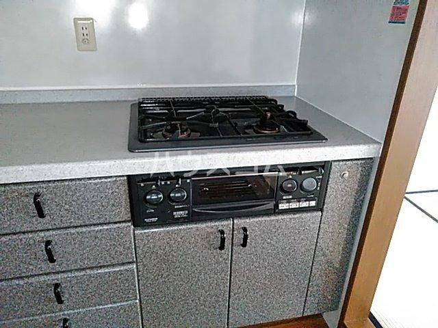 ニューライフ等々力 508号室のキッチン