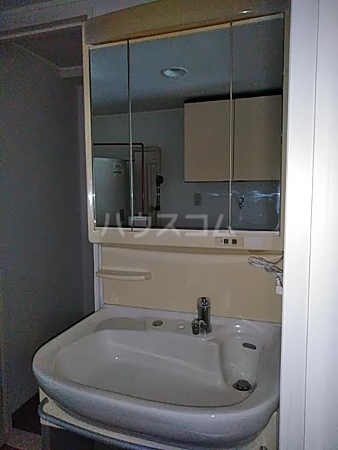 ニューライフ等々力 508号室の洗面所