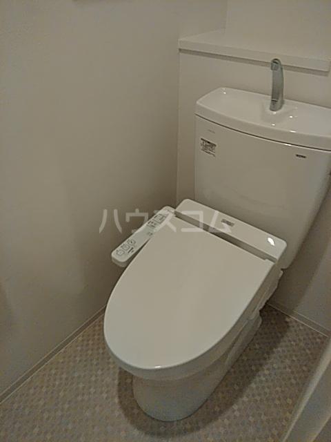 フェルクルールプレスト都立大学 203号室のトイレ