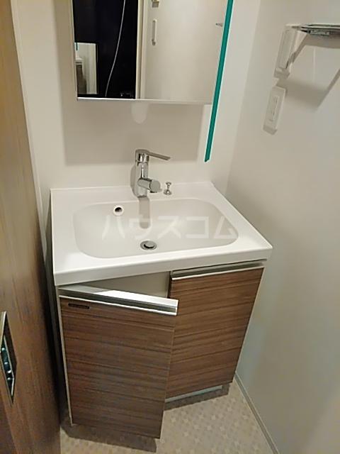 フェルクルールプレスト都立大学 302号室の洗面所