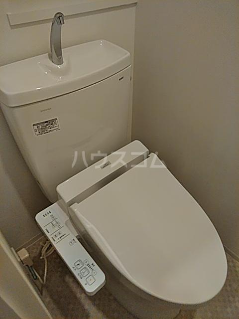 フェルクルールプレスト都立大学 401号室のトイレ