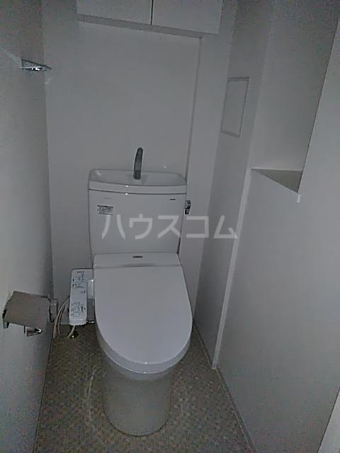 フェルクルールプレスト都立大学 504号室のトイレ