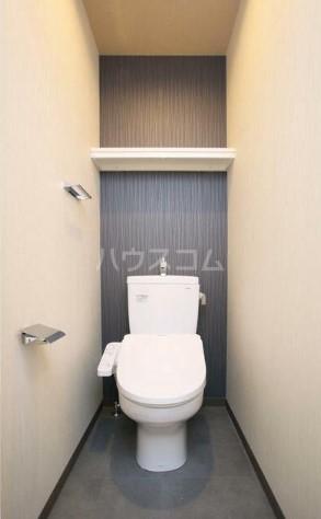 コリーヌ中根カルム 206号室のトイレ