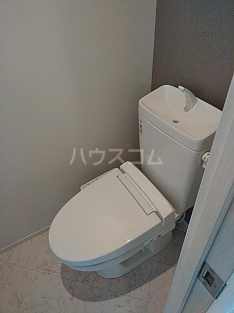 ミハス奥沢 101号室のトイレ