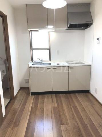 ベルエポック尾山台 202号室のキッチン
