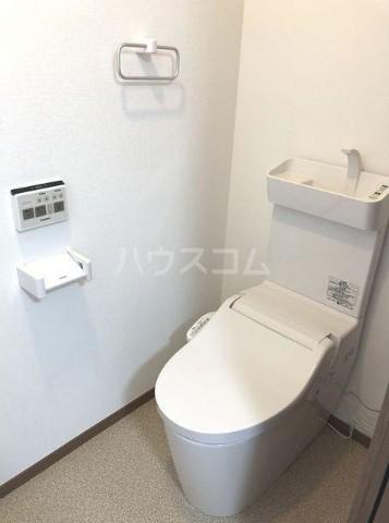ベルエポック尾山台 202号室のトイレ