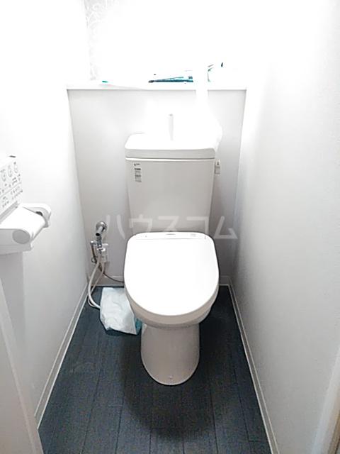 パークサイドレジデンス 607号室のトイレ