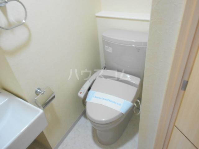 ボーテ菊名 503号室のトイレ