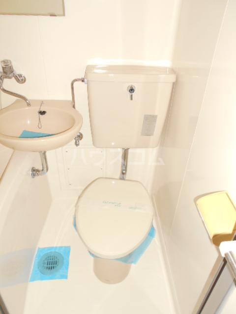 ハナブサマンション 303号室のトイレ