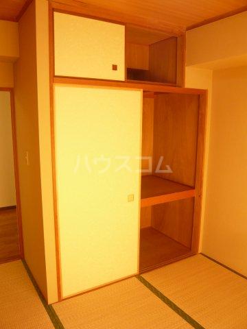 パストラル野沢壱番館 205号室の収納