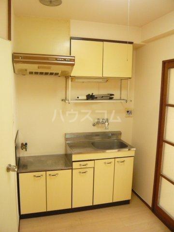 シャトレ・エルム 202号室のキッチン