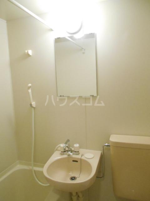 スカイコート駒沢公園 204号室の洗面所