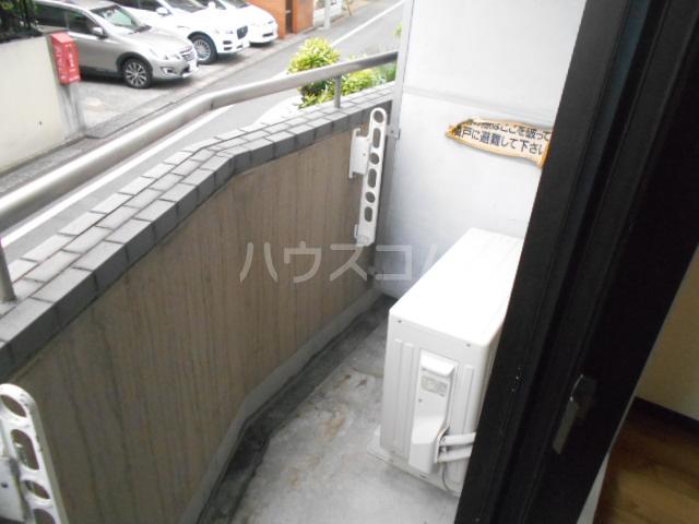 スカイコート駒沢公園 204号室のバルコニー