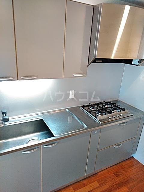 アパートメンツ駒沢大学 401号室のキッチン