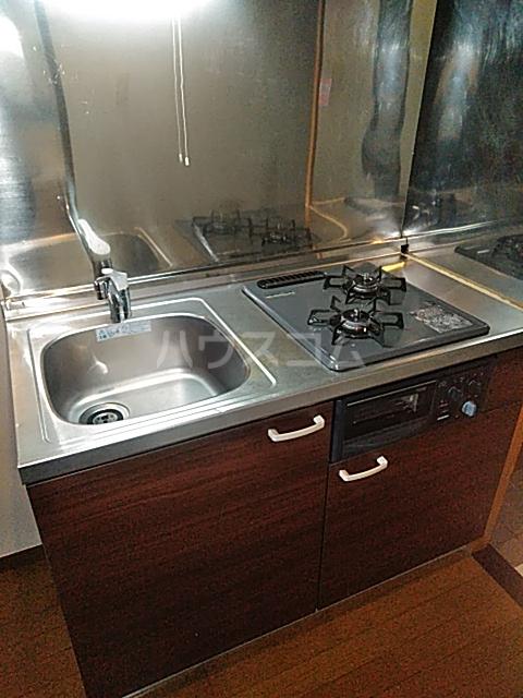 ハイツサンシャイン 102号室のキッチン
