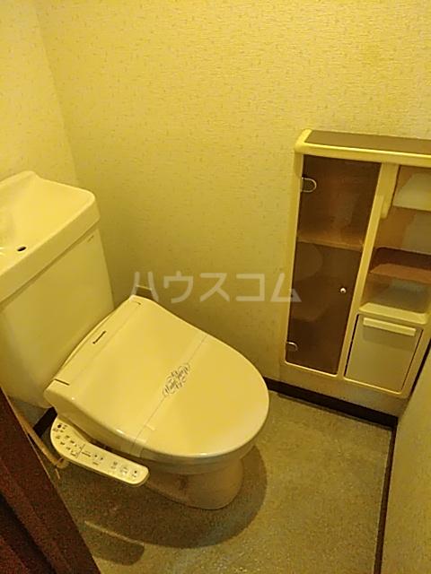 ハイツサンシャイン 102号室のトイレ