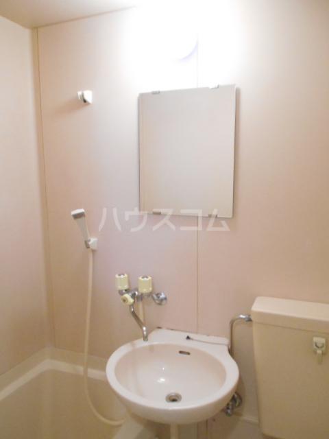 グランドルーフ 202号室の洗面所