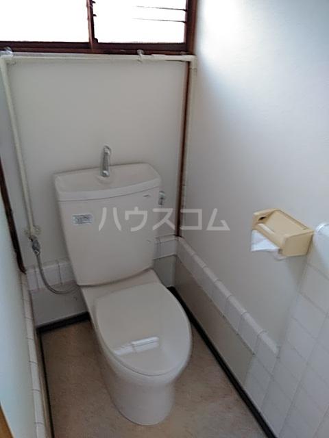 たちばな荘 202号室のトイレ