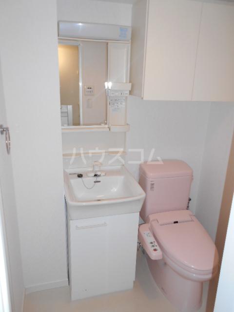 ロジェ三軒茶屋 205号室の洗面所