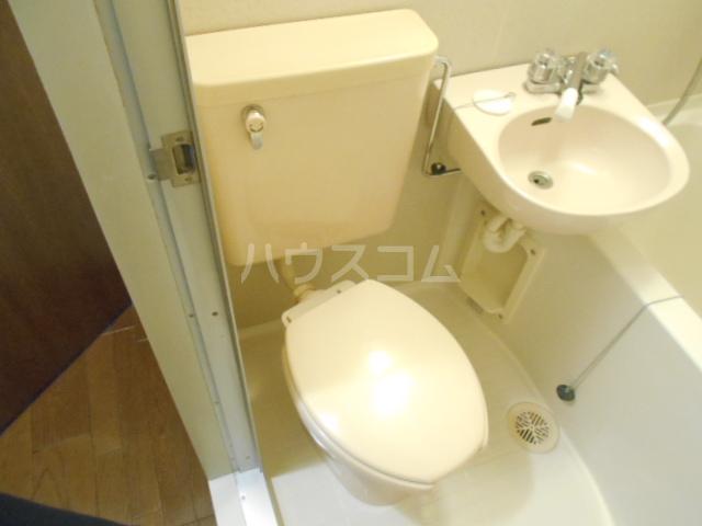 ルーブル池尻大橋 307号室のトイレ