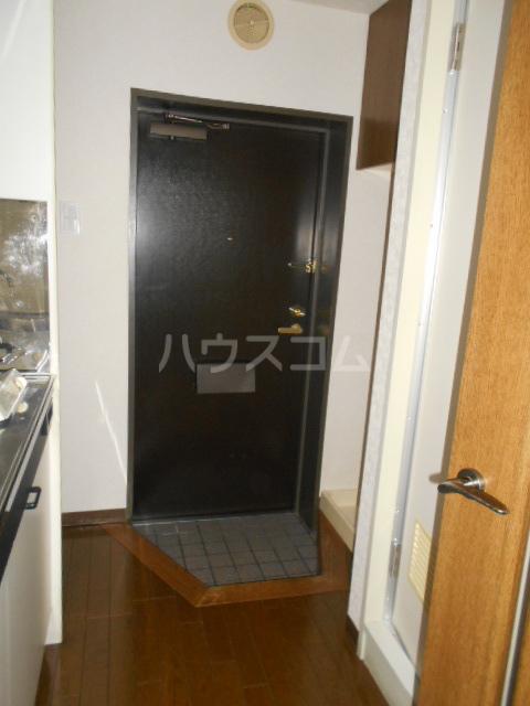 ルーブル池尻大橋 308号室の玄関