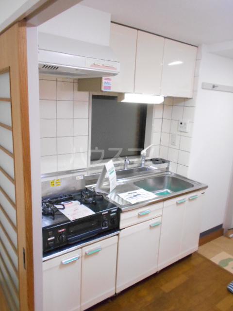 リシェール太子堂 101号室のキッチン