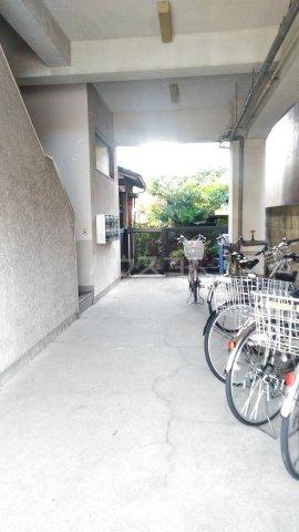 杉田ハイツ 301号室のエントランス