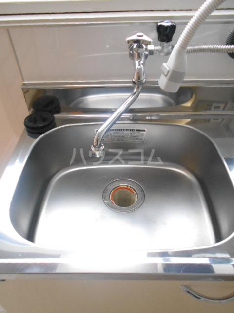 コーポ・コトブキ 201号室の洗面所