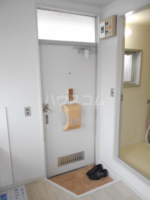 コーポ・コトブキ 201号室の玄関