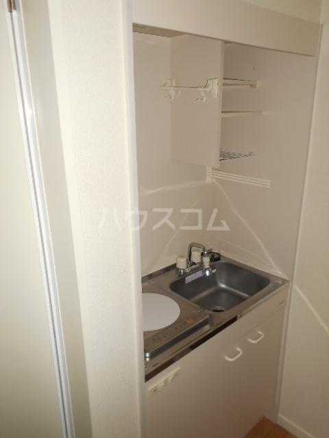 ゼロップ野沢 103号室のキッチン