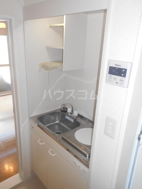 ゼロップ野沢 107号室のキッチン