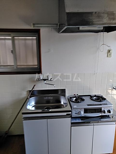 斉藤荘 102号室のキッチン