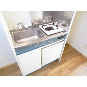 CRADLE 203号室のキッチン