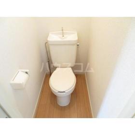 CRADLE 203号室のトイレ