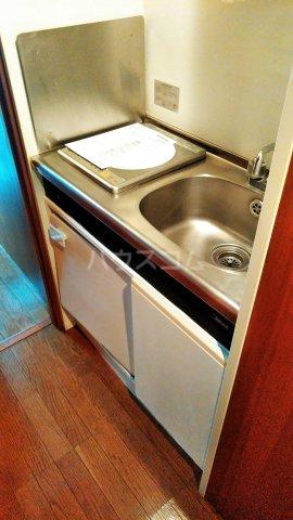 アスティムーラ 206号室のキッチン