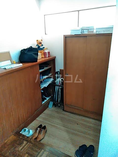 小林ハウス 4号室の玄関