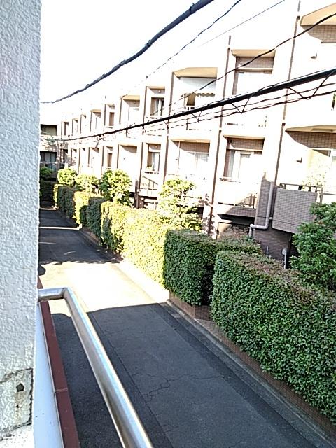 小林ハウス 4号室の景色