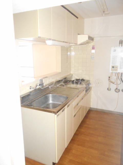 シティコーポ野沢 404号室のキッチン