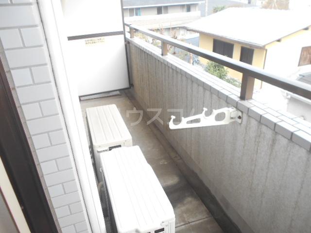 シティコーポ野沢 404号室のバルコニー