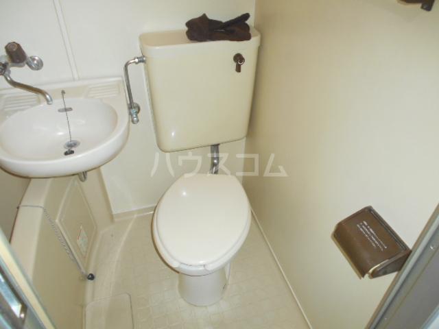 ユーコート上馬 505号室の洗面所