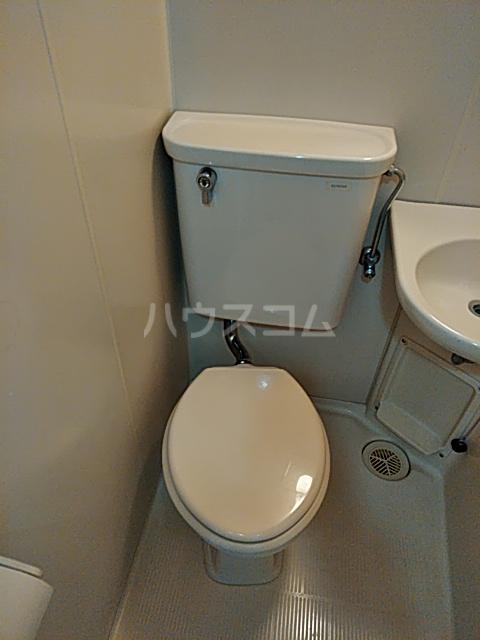 山手女子ハイツ 312号室のトイレ